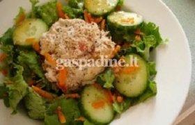 Paprastas tuno salotų receptas