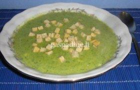 Pikantiška brokolių sriuba