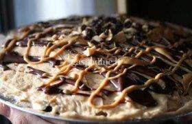 Žemės riešutų sviesto pyragas