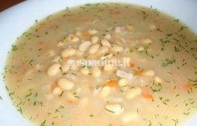 Sojos pupelių sriuba