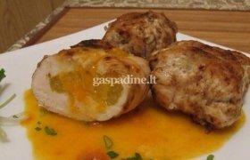 Vištienos suktinukai su apelsinais ir greipfrutais