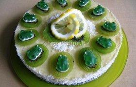"""Vaisinis maskarponės tortas """"Linksmasis pavasaris"""""""