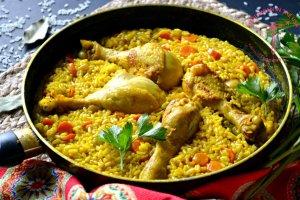 Vištiena su ryžiais ispaniškai