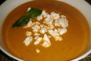 Pomidorų ir baklažanų sriuba