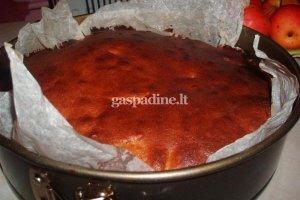 Meduolinis obuolių pyragas