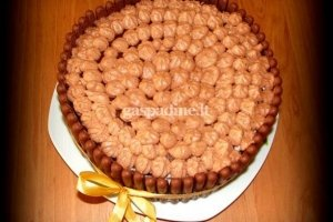 Bananinis-šokoladinis tortas su maskarpone