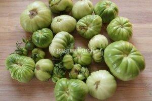 Rauginti pomidorai su garstyčiomis