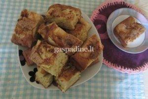 Klasikinis obuolių pyragas