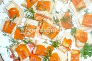 Sumuštinukai su paprika ir sūriu