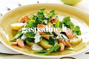 Bulvių salotos su lašiša EN