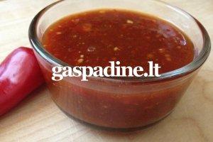 Salsa receptas