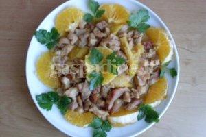 Mėsa su apelsinais