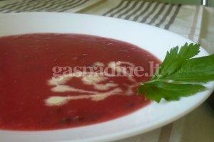 Trinta burokėlių sriuba