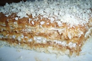 Greitasis vaflių tortas