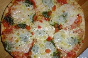 Pica su Mozarelos sūriu
