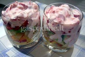 Gaivios vaisių salotos