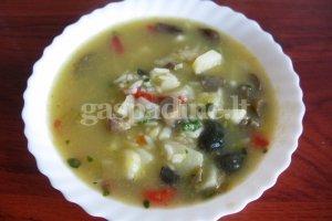 Grybų  sriuba pasninkui