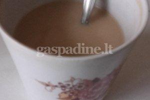 Skanus kavos gėrimas sušilti