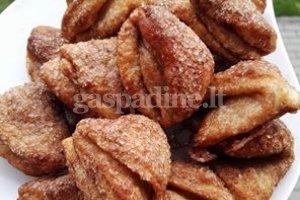 Sausainiai su varške ir cinamonu