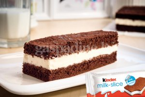 Kinder Milk Slice plokštainis