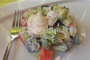 Brokolių mišrainė