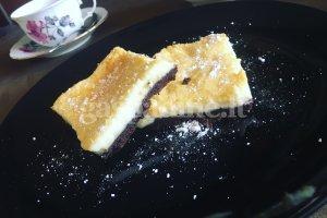 Šokoladinis pyragas su sūrio kremu