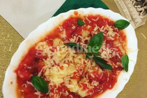 Itališki bulvinukai pomidorų padaže (Gnocchi)