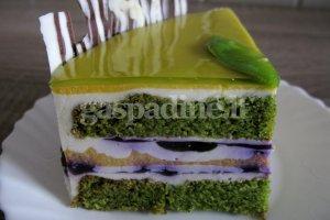 Margas ir gaivus špinatinis tortas