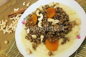 Marokietiškas troškinys su kuskusu