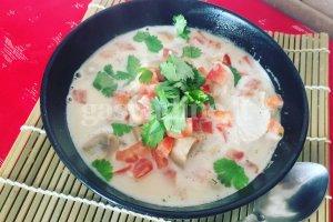 Tom Kha sriuba