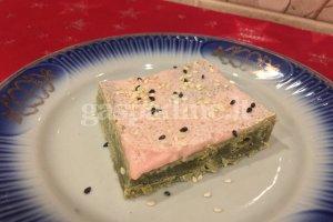 Pyragaičiai su žaliąja arbata ir sezamų sėklomis