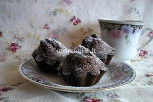 Šokoladiniai keksiukai (Muffinai)
