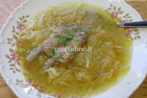 Ritos raugintų kopūstų sriuba