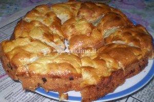 Loretos obuolių pyragas