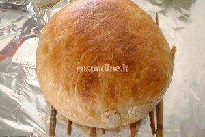 Šviežia trapi duonelė