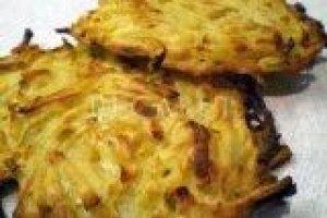 Tarkuotų bulvių blynai