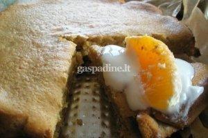 Švediškas medaus pyragas