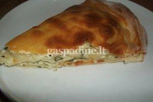 Ačma - apkepas su sūriu