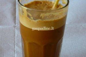 Graikiška šalta FRAPE kava