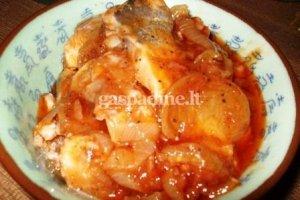 Silkutė pomidorų padaže