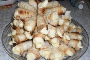 Saldžiosios tūbelės su kremu