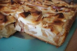 Obuolių pyragas Nr. 1
