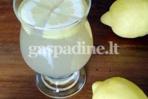 Limonadas (klasikinis receptas)