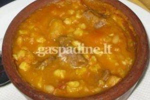 Argentinietiškas troškinys-sriuba