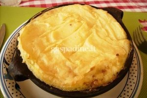 Bulvių apkepas su jautiena