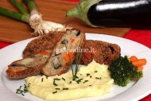 Maltos kiaulienos kepsniai su pievagrybiais ir daržovėmis