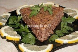 Vištienos širdelių paštetas