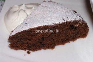 Greitas šokoladinis pyragas