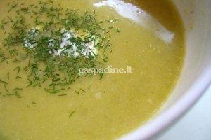 Kreminė artišokų sriuba