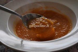 Trinta aštri moliūgų sriuba
